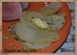cuisiner les chayottes chayotte aux fines herbes la cuisine de lilly