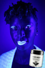 glow in the makeup black light reactive pigment don t like the way it looks here