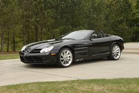 convertible mercedes black black slr exotic car search