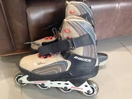 womens roller boots uk womens mens bauer xtra inline roller skates uk 9 eu 44 ebay