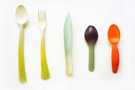 ustensile cuisine bio graft par qiyun deng légumes ustensiles de cuisine biodégradables