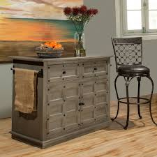 furniture kitchen island hillsdale furniture s camargo rustic gray kitchen island free