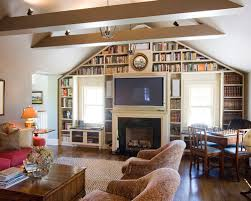 Fireplaces With Bookshelves by Bookshelves Fireplace Houzz