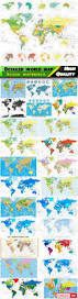 World Maps With Countries by Detailed World Map With Countries And Cities 25 Eps All Design
