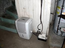 dehumidifier and dirt floor u2014 heating help the wall