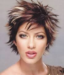 short beautiful spiky short hairstyles for women styles 14550