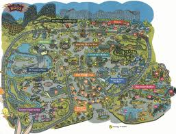 6 Flags St Louis Theme Park Maps Coastertown Com