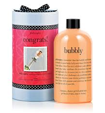 congrats bubbly shampoo bath and shower gel philosophy images