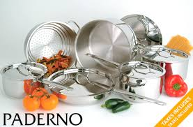 cuisine paderno 189 for a paderno alberton 11 stainless steel cookware set