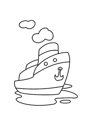 boat coloring pages kids printable coloringstar