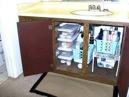 kitchen sink storage ideas bathroom sink storage cabinet storage ideas marvelous