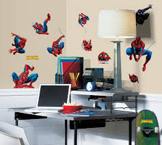 spiderman wall decor home decor and design image of famous spiderman wall decor