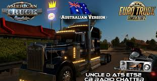 kenworth w900 australia uncle d ets2 ats cb radio chatter mod v 2 04 australian version