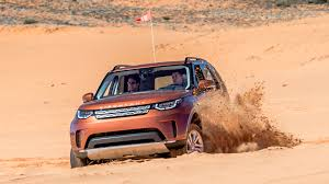 orange land rover discovery 2017 land rover discovery first drive rounded but still grounded