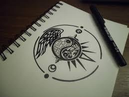 ying yang design 2 by importautumn on deviantart