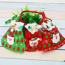 bulk christmas bags canvas christmas gift candy bags christmas bags drawstring favor