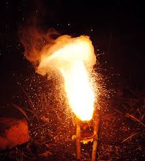 how to make and deploy thermite for explosives in the field