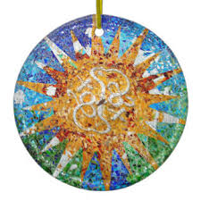 mosaic ornaments keepsake ornaments zazzle
