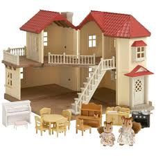 Buy Sylvanian Families Beechwood Hall Gift Set At Argoscouk - Sylvanian families luxury living room set