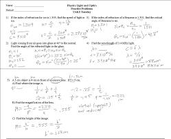 speed of light worksheet worksheets