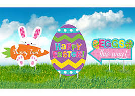 outdoor easter decorations outdoor easter decorations party city