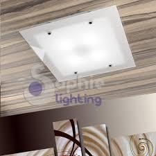 ladario in vetro plafoniera ladario soffitto led acciaio bianco design 28 images