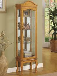 small curio cabinet with glass doors curio cabinet best curioinets and display images on pinterest