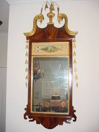 Mirror For Sale An American Federal Style Hepplewhite Mirror For Sale Antiques