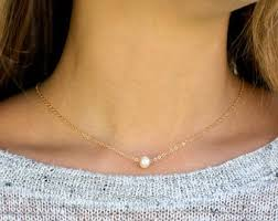 etsy necklace pearl images Chokers etsy jpg