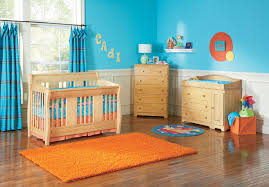 Light Blue Beige White Bedroom With Light Wood Furniture by Bunk Bed Grey Wooden And Cupboard White With Orangeblue F