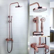 Bathroom Plumbing Fixtures The Appeal Of Exposed Thermostatic Shower Systems The