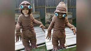 Manatee Halloween Costume Mom Crochets Perfect Halloween Costume Hand
