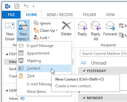 how to create an outlook address book in 2013 create outlook address entry for undisclosed recipients