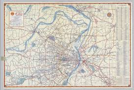 map st louis shell metropolitan st louis and vicinity david rumsey