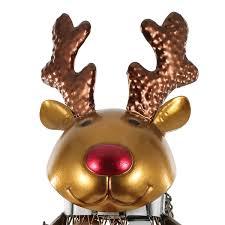 best and cheap golden netted christmas elk wine rack animal wine