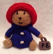 paddington bear knitting pattern ebay