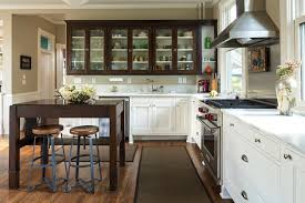 Glass Cabinet Kitchen Doors Kitchen Confidential Glass Cabinet Doors Are A Clear Winner