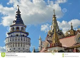 russische architektur klassische russische architektur replik lizenzfreies stockfoto