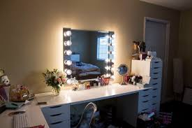 Lighted Makeup Vanity Mirror Diy Vanity Mirror Light Step By Step U2022 A Love Affair Blog