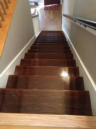 Laminate Floor Trims From The Top Wood Flooring Upstairs Is Very Light So Had To Make