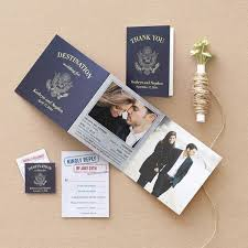 wedding invitations adelaide passport inspired wedding invitation suite brides of adelaide