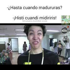 Funny Memes Espaã Ol - resultado de imagen para bts memes espa祓ol memes bts