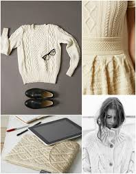wedding dress sweaters it s all about aran knits this fall pretty prudent