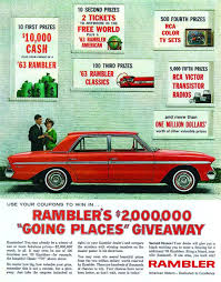 green rambler car we have a winner automobiles were the top prize in hemmings