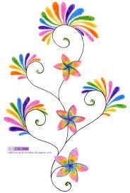 tattoos and doodles ornamental vines u0026 flowers rainbow color