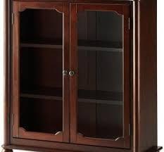 cherry bookcase glass doors u2039 decor love