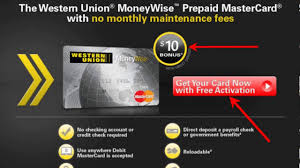 prepaid debit card no fees western union prepaid card apply no limit spend courtesy abdel
