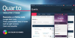 quarto u2014 vbulletin 5 responsive retina ready theme by pixelgoose