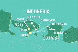 Bali Indonesia Map Bali And Beyond Indonesia Tours Geckos Adventures Us