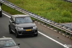 land rover green land rover range rover sport svr 6 june 2016 autogespot